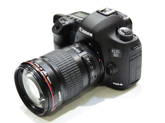 Fotografia della Canon EOS 5D Mark III