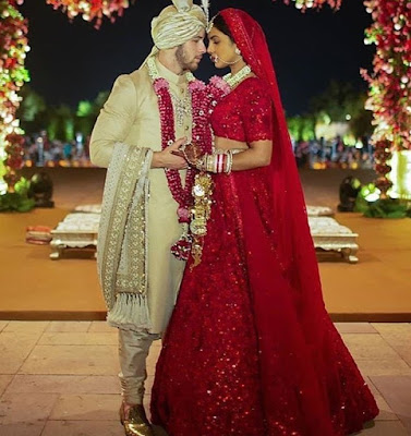 Checkout Official wedding photos from former Miss World Priyanka Chopra wedding to her singer husband Nick Jonas.