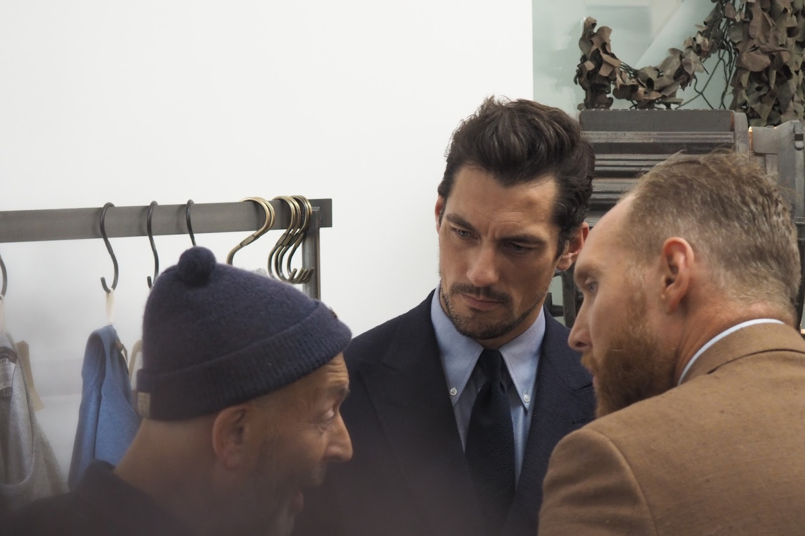 DAVID GANDY AT NIGEL CABOURN SS17 PRESENTATION
