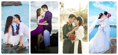 Hôn thể hiện tình yêu mãnh liệt giữa hai người