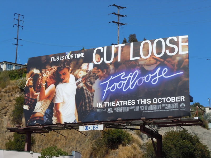 Footloose movie billboard