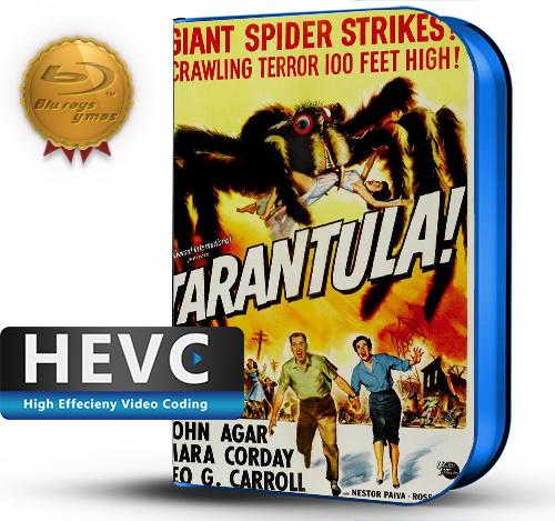 Tarantula (1955) 1080P HEVC-8Bits BDRip Ingles(Subt.Esp)(Terror)