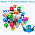 Top 3 Reasons to Use Social Media for Business Website Promotion
