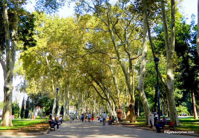 Jardins Gülhane, Istambul