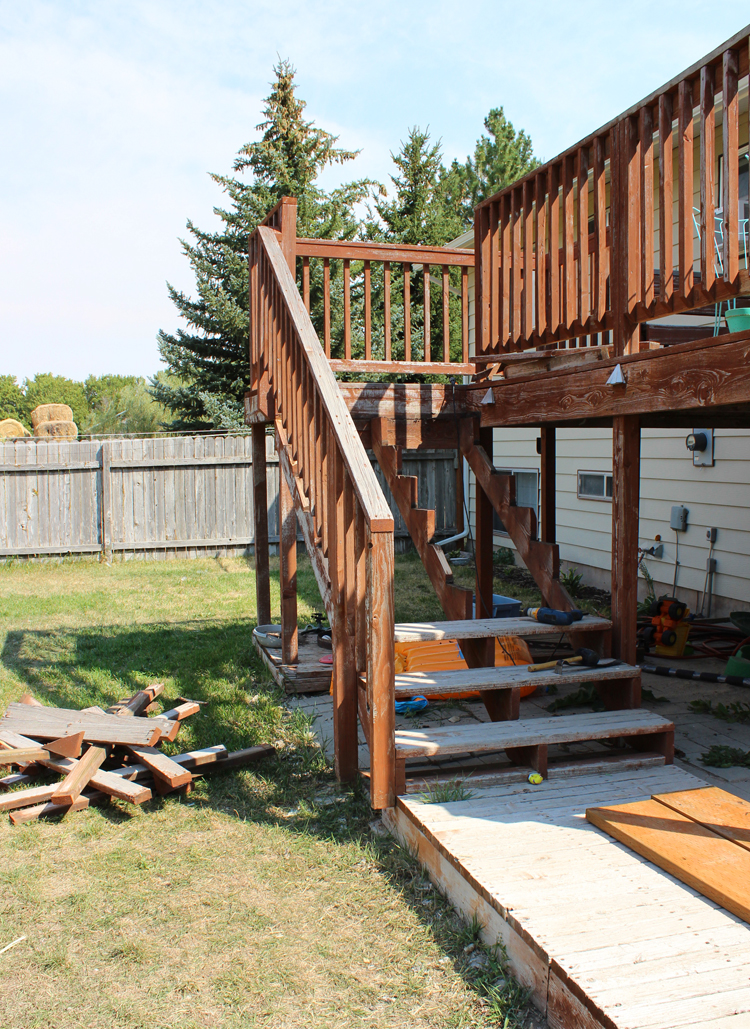 How to save a rotting deck