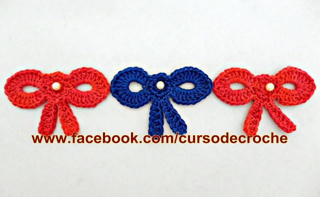 Aprender Croche Canhotas Laço Fácil Left Handed Crochet