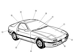 repair-manuals: Mazda RX-7 1989-1991 Repair Manual