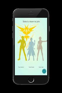 Choose Team Pokémon Go Team Instinct