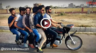 भारतीय जुगाड़ : तीन पहिए वाली मोटरसाइकिल