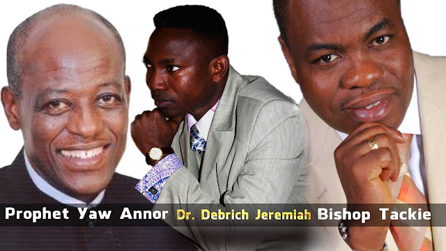 Bishop Tackie & Prophet Yaw Annor Foreword Dr. Debrich Jeremiah's New Book [Video]
