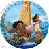 Moana Party Free Printable Wrappers and Toppers for Cupcakes.