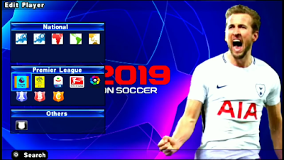 PES 2019 PPSPP Updated Textures + Save Data April 2019