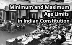 Age and Time Limits in Indian Constitution