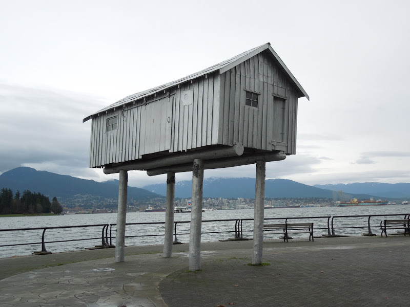LightShed sculpture Coal Harbour Vancouver