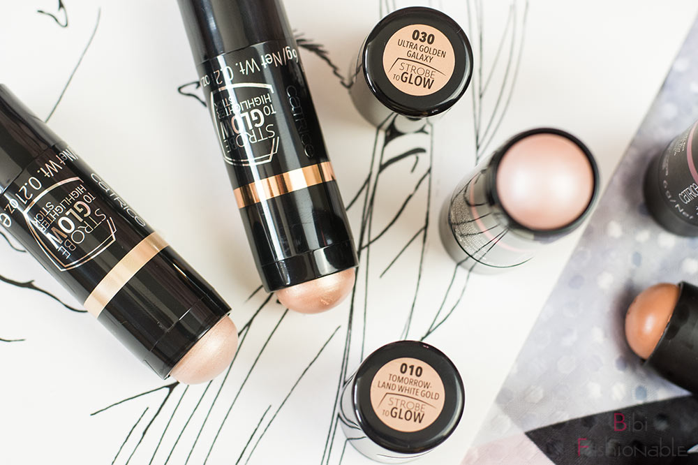 Catrice Strobe to Glow Highlighter Sticks Flatlay