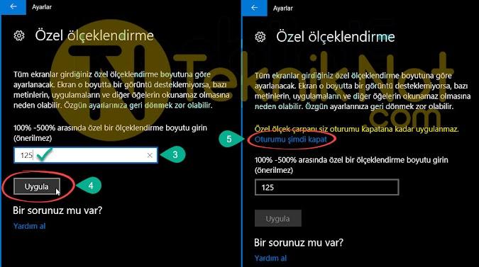 Windows 10 Bulanık Yazı Sorunu Çözümü