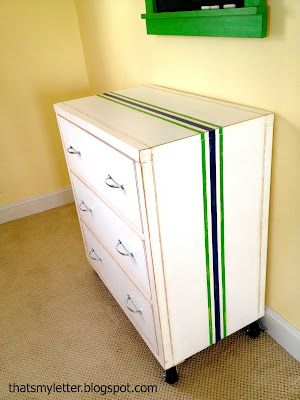 diy dresser with wheels