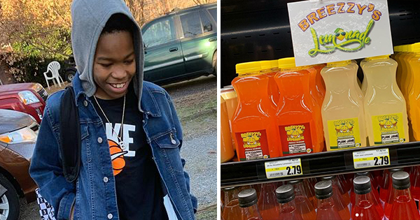 Aubrie Green, founder of Breezzy's Lemonade