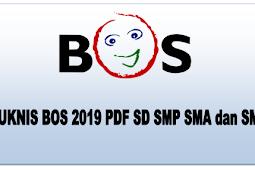 Unduh Juknis BOS 2019 PDF SD SMP SMA dan SMK - ramela.net