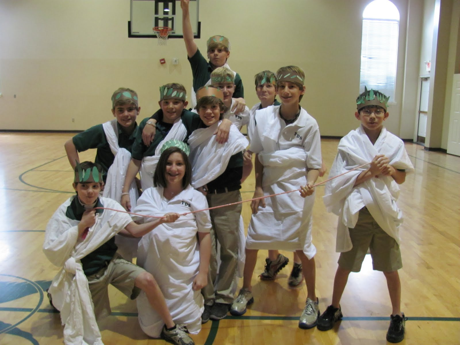Pds 6th Grade Ancient Greek Olympics