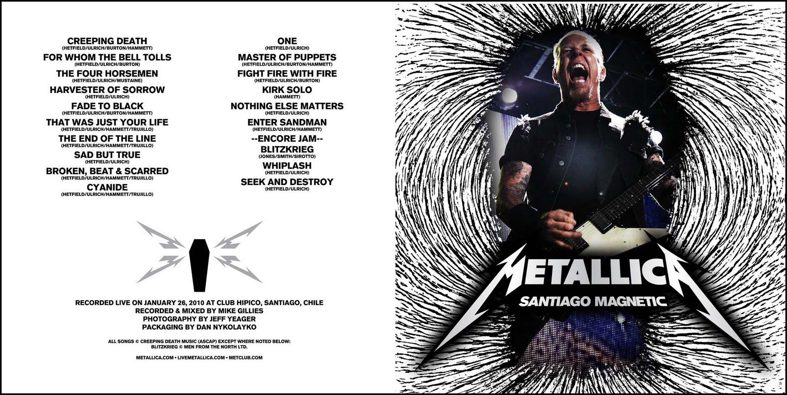 Metallica - Santiago Magnetic