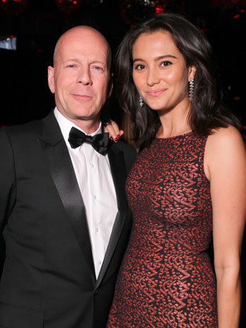 Bruce Willis With Wife Emma Hemming Latest Photographs ...