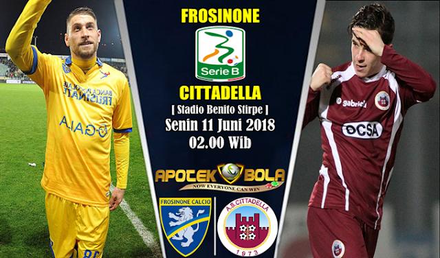 Prediksi Frosinone vs Cittadella 11 Juni 2018