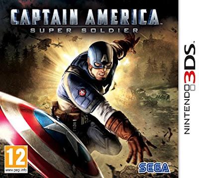 Captain America Super Soldier Decrypted 3DS EUR
