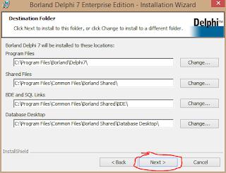 Cara Install Delphi 7 di Windows 8 8