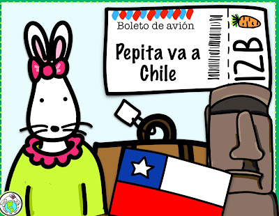 Pepita va a Chile Theme Pack in Spanish for kids