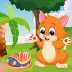Play Games4King Cute Cat Escap…