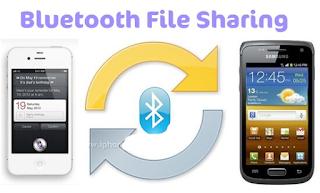 AirBlue Sharing, Mudah nya Mengirim dan Menerima File via Bluetooth di Iphone dengan android