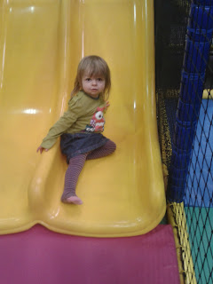 soft play, Rascals, Preston, slide