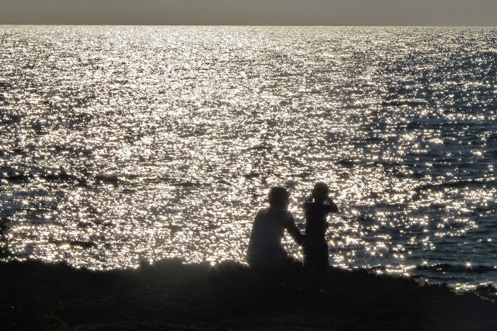 Fim de tarde no Mar do Caribe de Cuba, na Península Áncon.