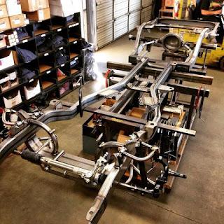 63-Impala-chassis dans Pro touring
