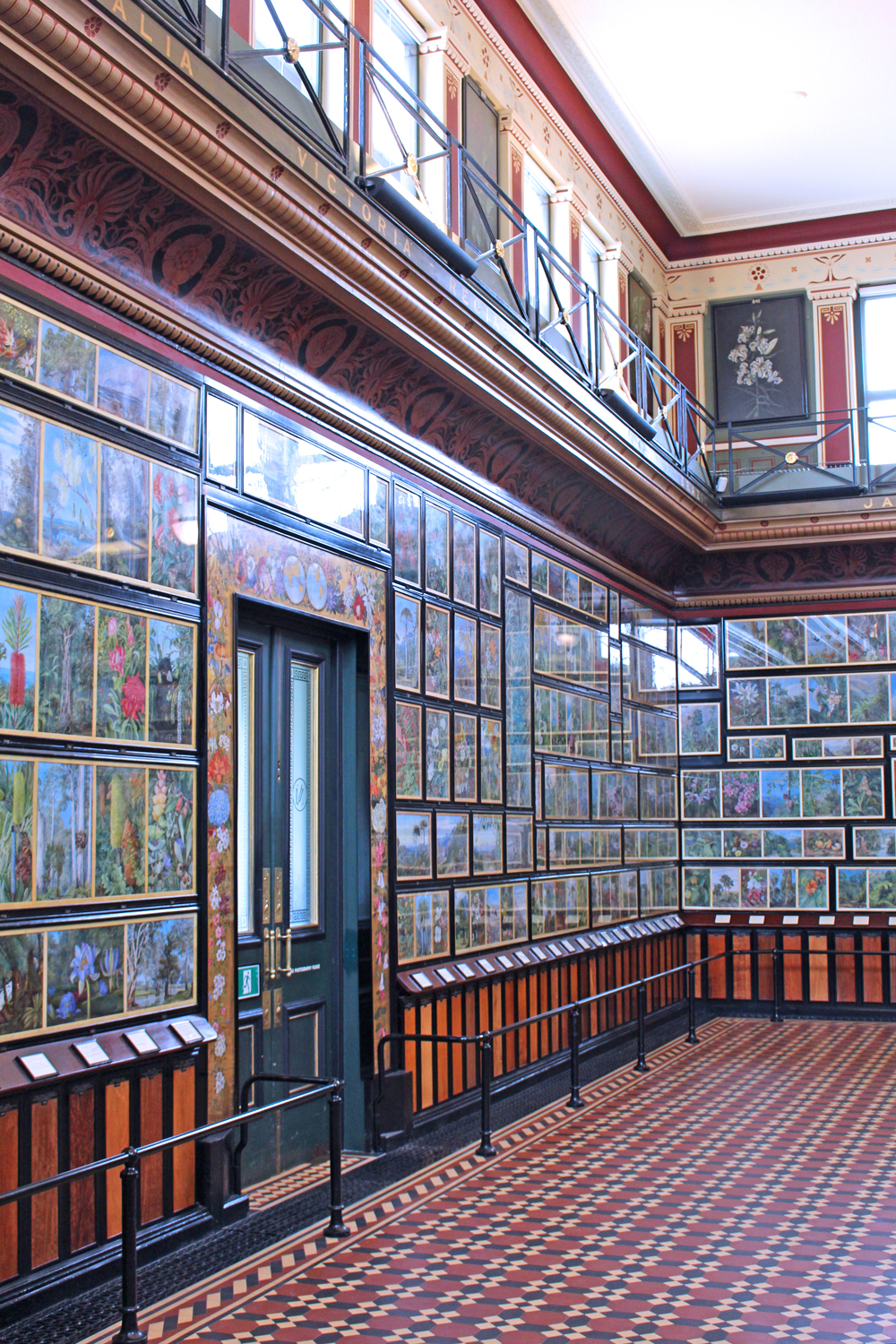 Marianne North Gallery at Kew Gardens in Spring - London lifestyle blog