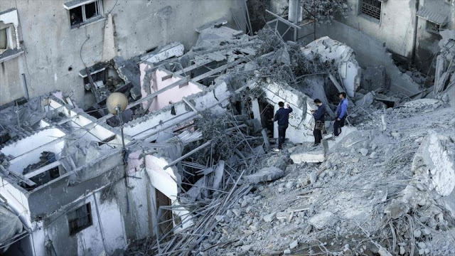 """Palestina tilda de """"crímenes de guerra"""" ataques de Israel a Gaza"""