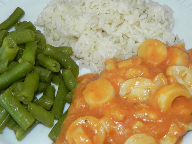 receita de vagem com curry