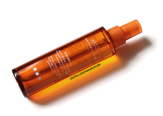 Institut Esthederm Sunscreen Sun Bronz Dry Oil 3 Suns Review