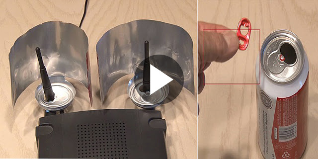 How To Boost Your Wifi Signals Using A Beer Can! Superb Trick!