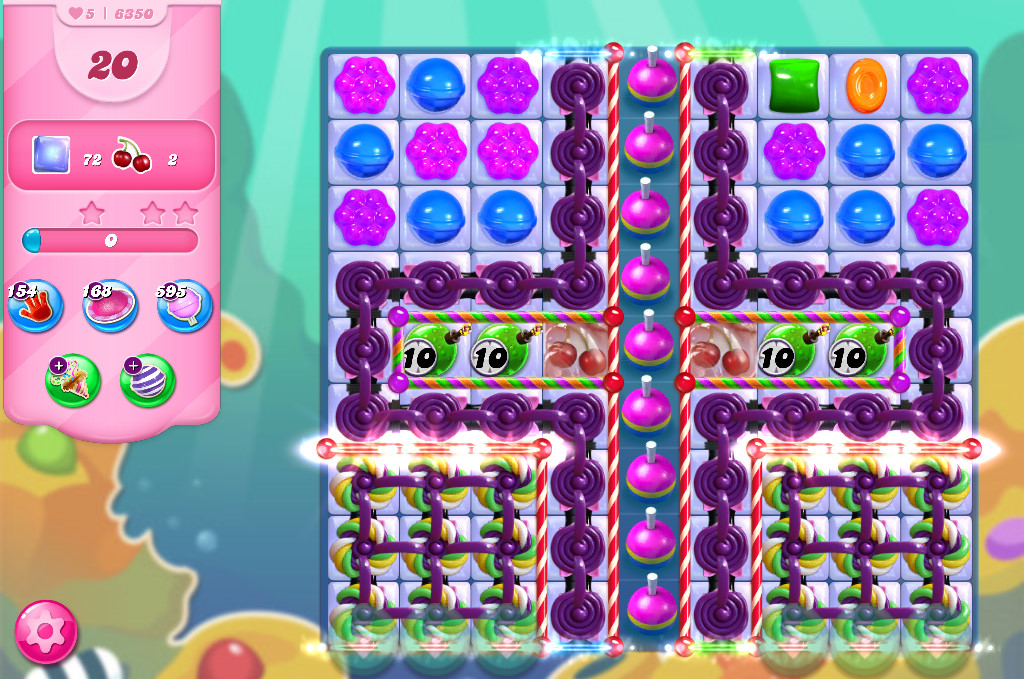 Candy Crush Saga level 6350