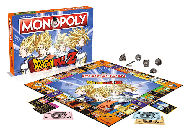 Plateau du Monopoly Dragon Ball Z
