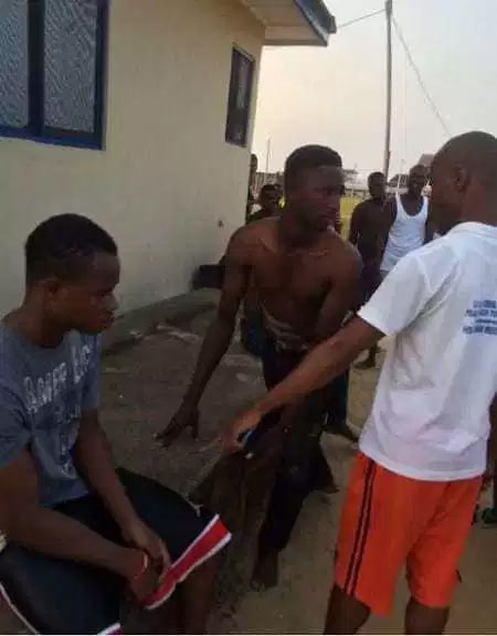 Recession? Young man nabbed for stealing condoms in Lagos