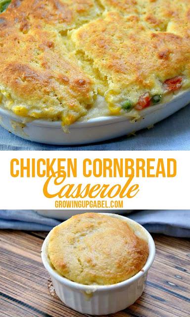 Chicken Cornbread Casserole Recipe