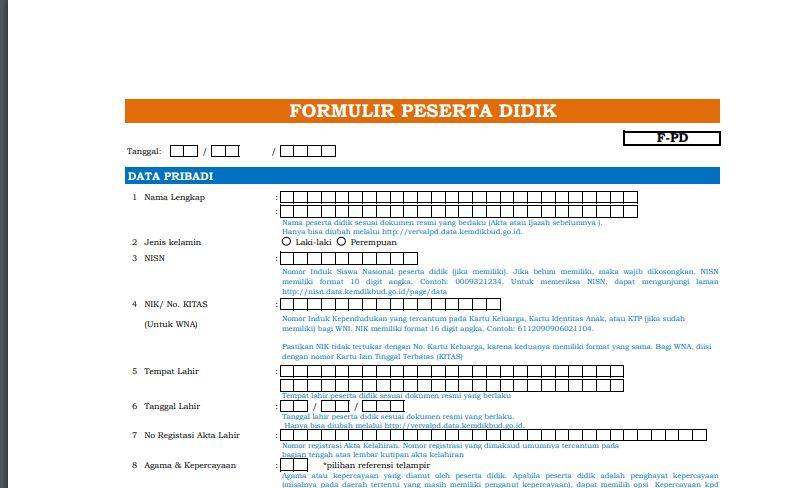 Download formulir ptk dapodik 2019 cs half life keygen