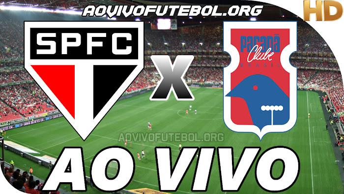 Assistir São Paulo x Paraná Clube Ao Vivo HD