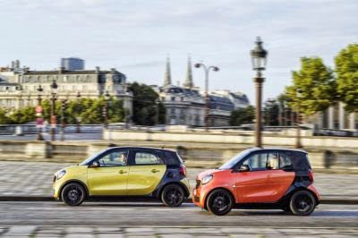 Noile modele smart fortwo si forfour
