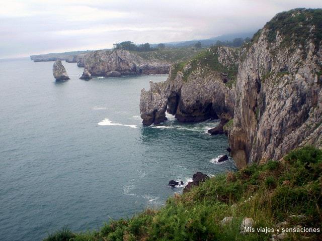 Acantilados del infierno, Ribadesella, Asturias