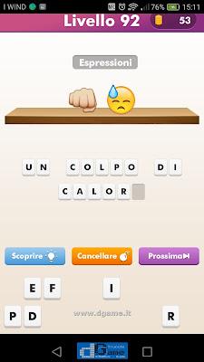 Emoji Quiz soluzione livello 92