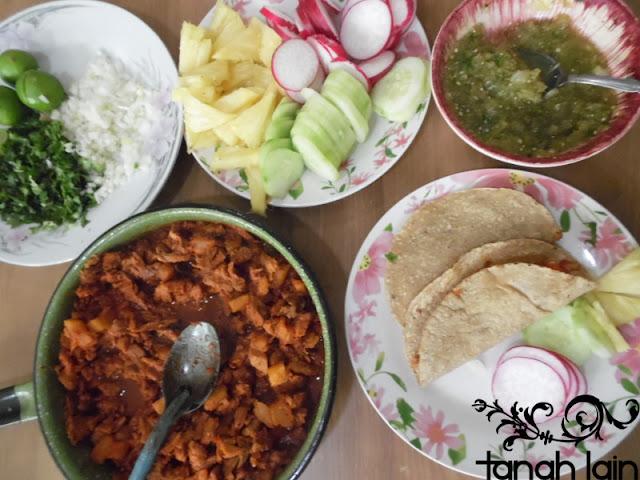 Receta de Tacos al Pastor Caseros